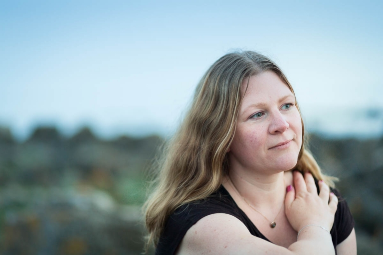 fotograf anna Granath, porträtt, havet,